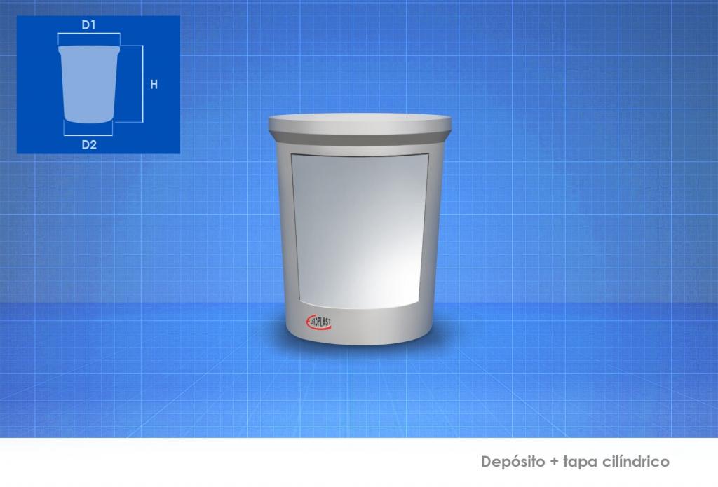 Dep sitos de agua cil ndricos europlast - Precio depositos de agua ...